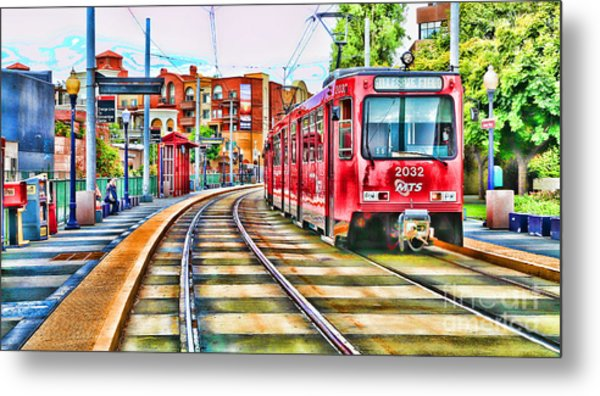 Going To Gillespie Field By Diana Sainz Metal Print
