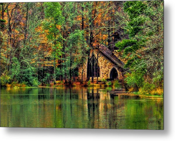 Going To The Chapel  Metal Print