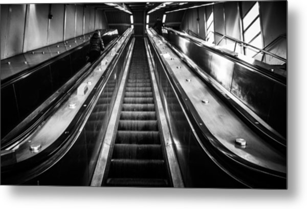 Going Up Metal Print