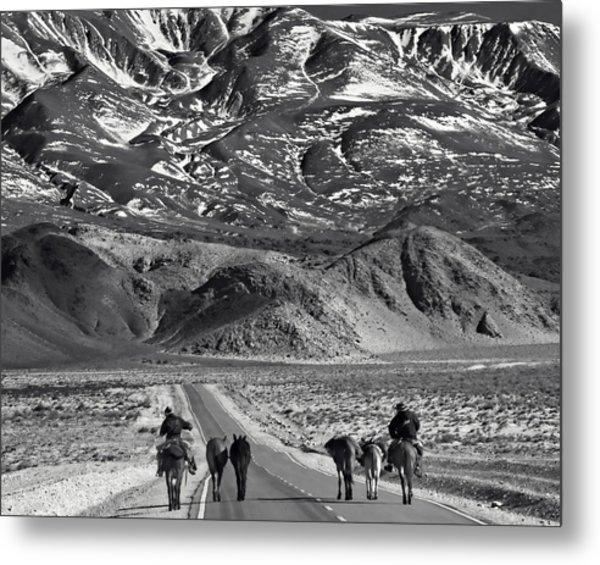 Going West Metal Print