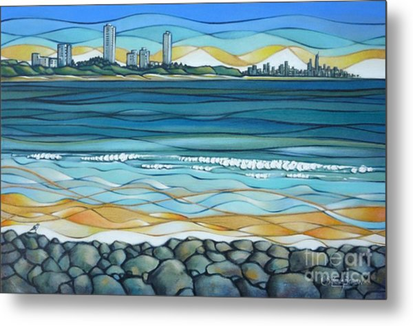 Gold Coast 180810 Metal Print