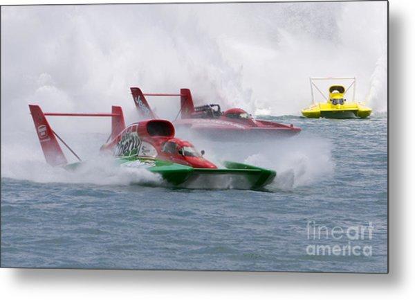 Gold Cup Hydroplane Races Metal Print