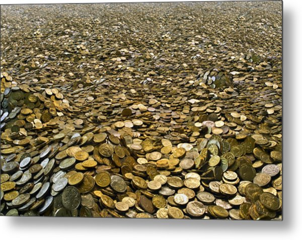 Goldcountry2 Metal Print by H-Gall