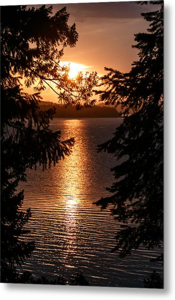 Golden Almanor Metal Print