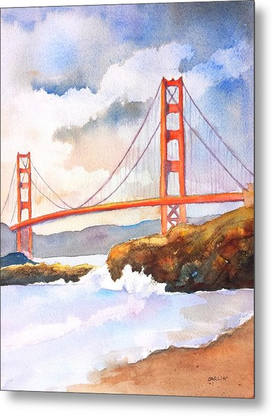 Golden Gate Bridge 4 Metal Print