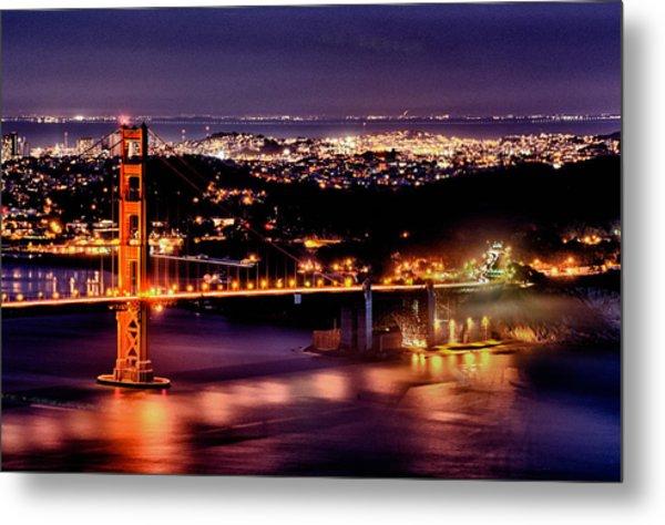 Golden Gate Bridge Metal Print by Robert Rus