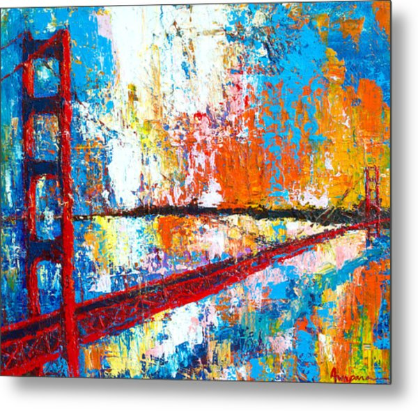 Golden Gate Bridge San Francisco Metal Print