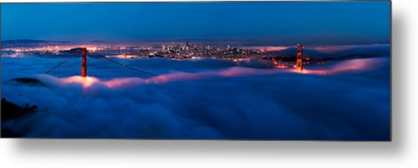 Golden Gate Bridge, San Francisco Metal Print