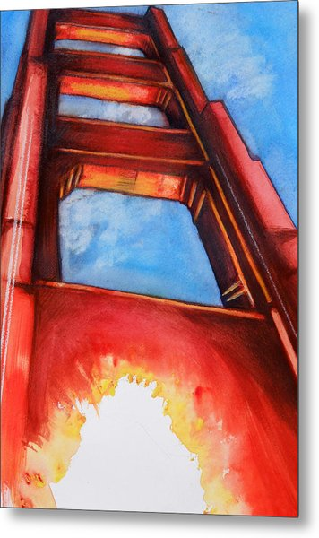 Golden Gate Light Metal Print