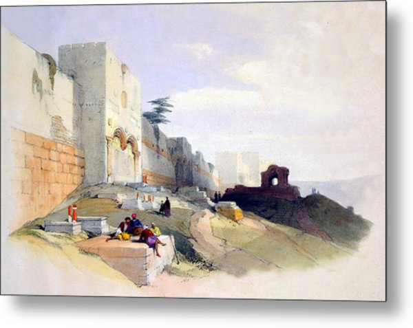Golden Gate Of The Temple Metal Print