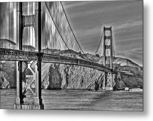 Golden Gate Over The Bay 2 Metal Print