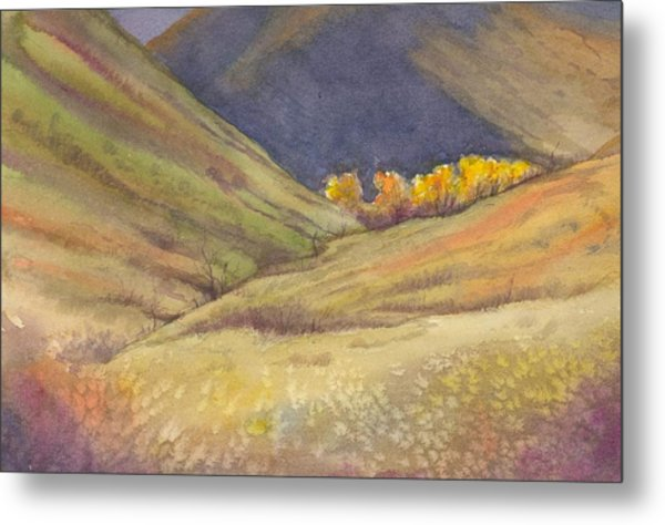 Golden Grove Metal Print