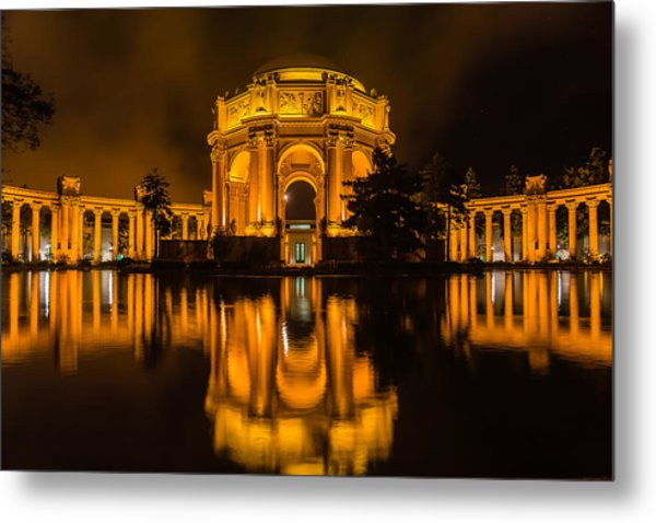 Golden Palace Metal Print
