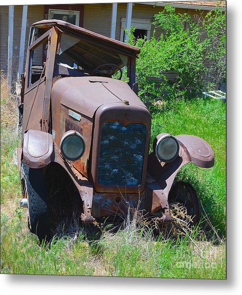 Golden Years Metal Print