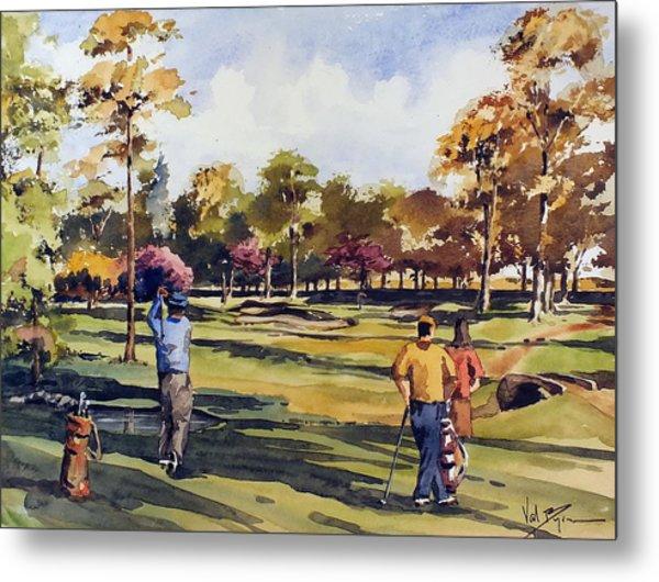Golf In Ireland Metal Print