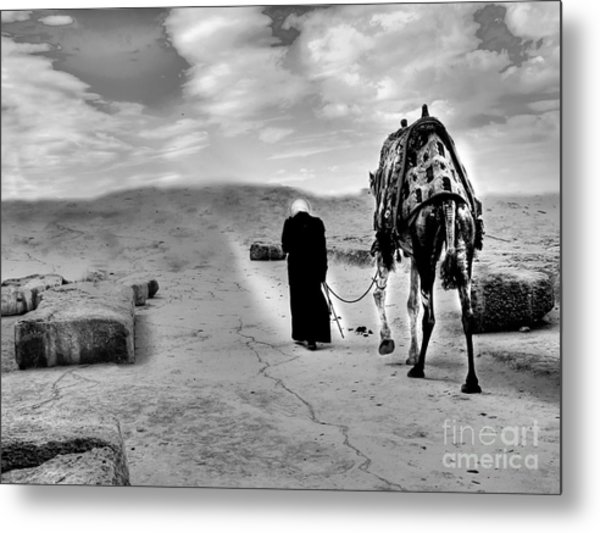 Gone With Wind  Metal Print by Hossam ElDin  Mostafa