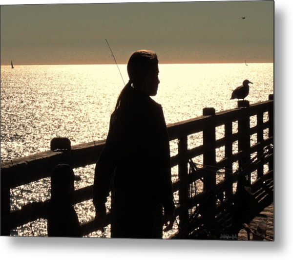 Good And Quiet Metal Print by Brian D Meredith