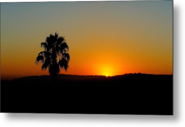 Good Evening Los Angeles Metal Print