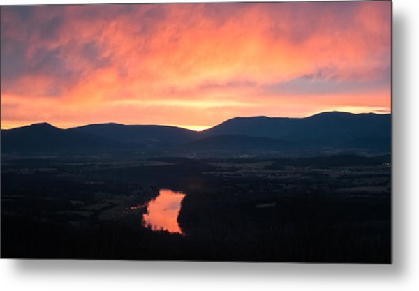 Good Morning Blue Ridge Metal Print