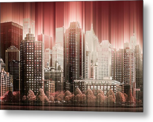 Good Morning Hudson Metal Print