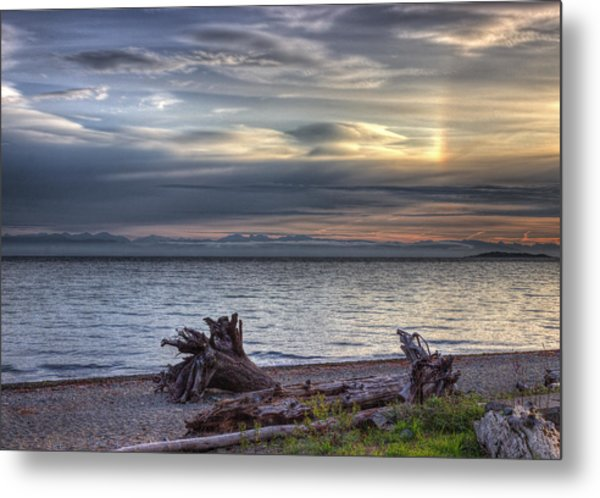 San Pareil Sunrise Metal Print