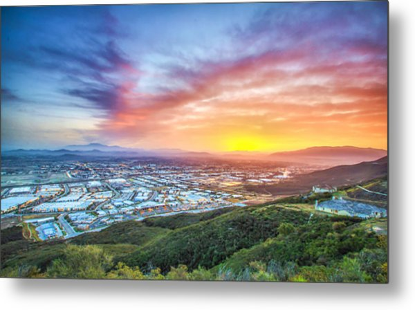 Good Morning Temecula Metal Print