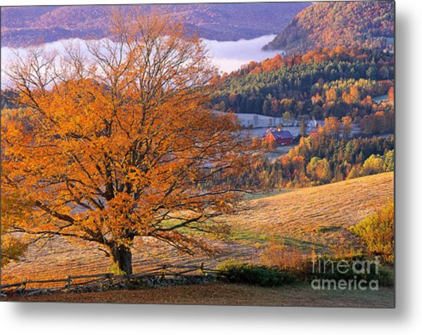 Good Morning Vermont Metal Print