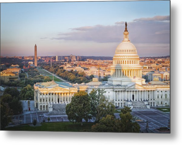 Good Morning Washington Metal Print