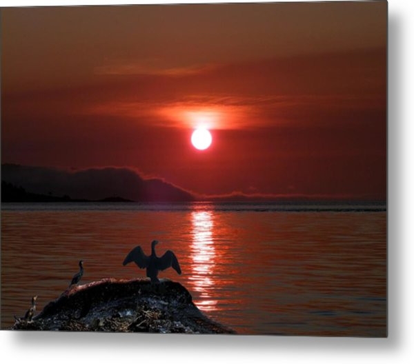 Good-night Metal Print