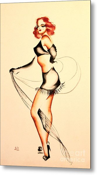 Good Night Ladies Dancer Metal Print