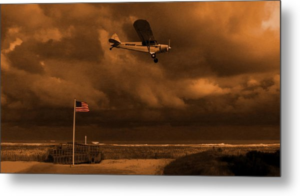 Good Night Wildwood Beach Metal Print