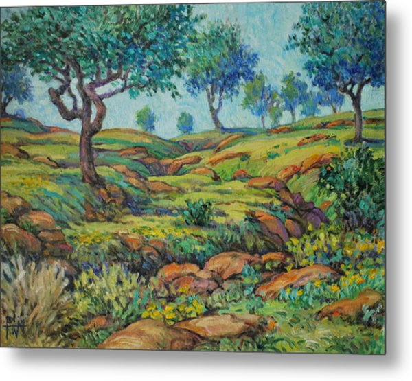 Good Pasture Poor Land For Farming Metal Print by Henry Potwin