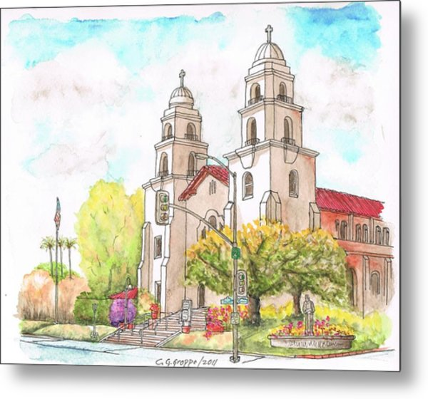Good Shepherd Catholic Church, Beverly Hills, California Metal Print