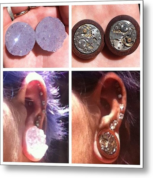 Got My New Plugs From Alternative Earth Metal Print