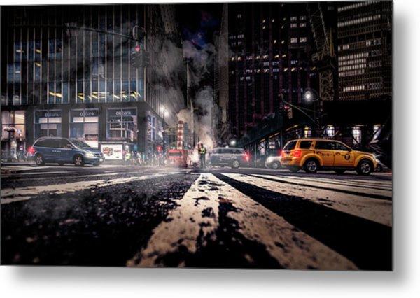 Gotham - Breaking Dawn Metal Print by Jackson Carvalho