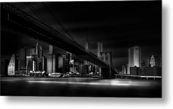 Gotham City. Metal Print