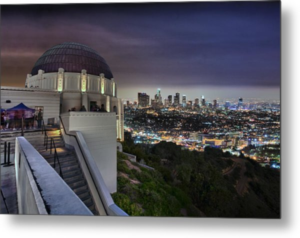 Gotham Griffith Observatory Metal Print