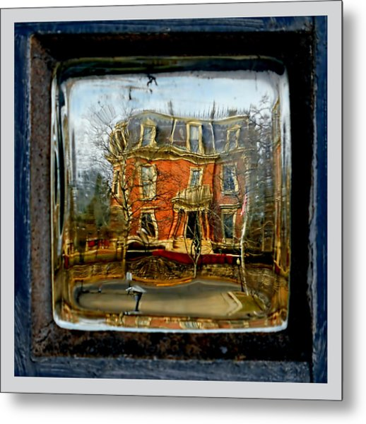 Governor's Mansion Metal Print by Dennis Weiser