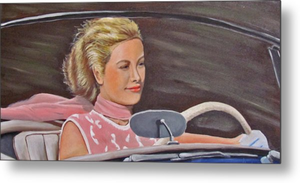 Grace Kelly - To Catch A Thief Metal Print