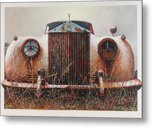 Grace - Rolls Royce Metal Print