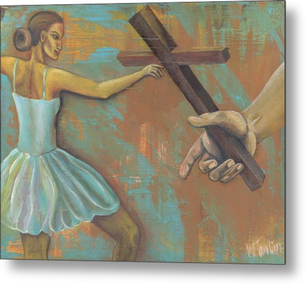 'grace Was Given' Metal Print