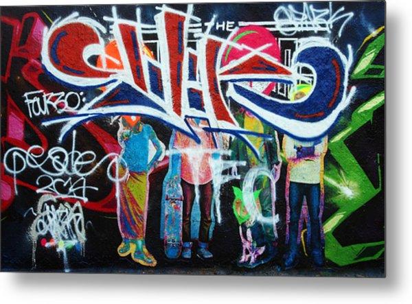 Graffiti Art Metal Print