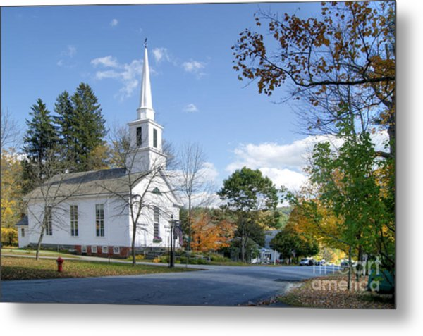 Grafton Church Metal Print