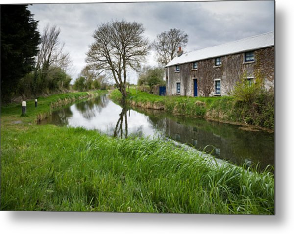 Grand Canal At Miltown Metal Print