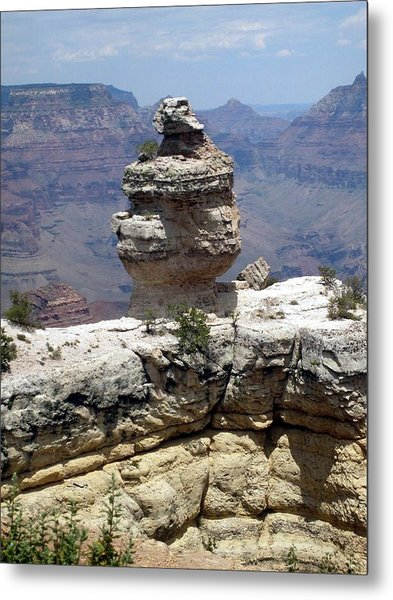 Grand Canyon Bluff Metal Print