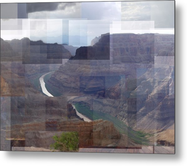 Grand Canyon Guano Point Metal Print