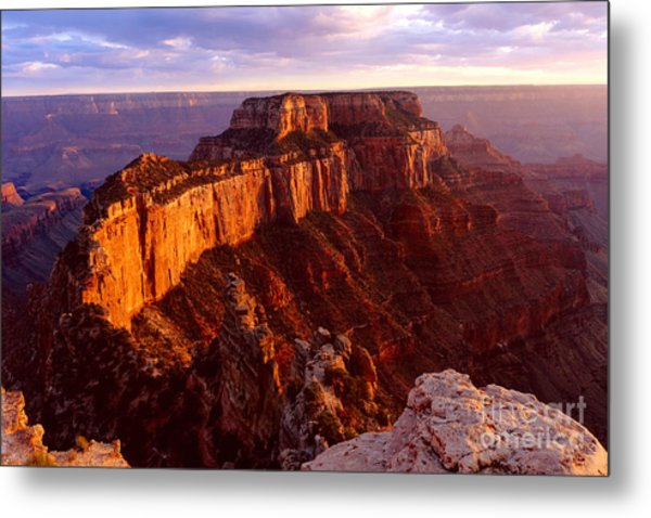 Grand Canyon North Rim Metal Print