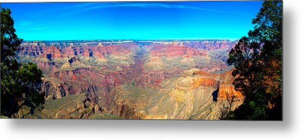 Grand Canyon Panorama Metal Print