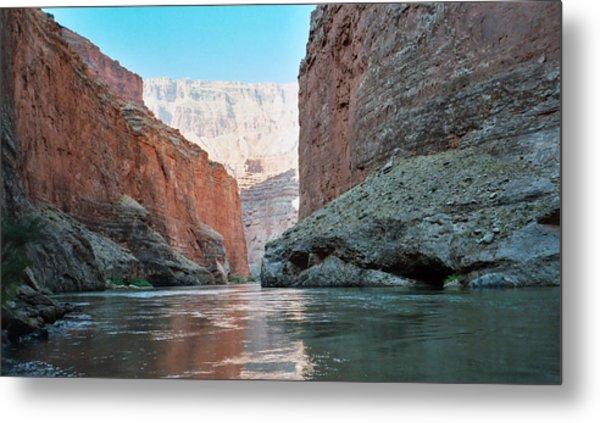 Grand Canyon Sky Metal Print