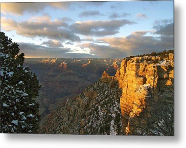 Grand Canyon. Winter Sunset Metal Print